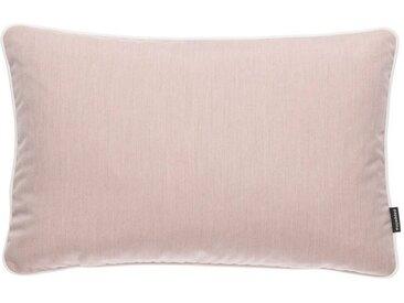 pappelina Dekokissen »Outdoor-Kissen Sunny 38 x 58 cm (rechteckig)«, rosa, Pale Rose