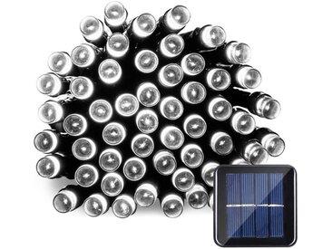 TOPMELON Lichterkette »LED Dekolicht,Solarleuchten«, 100-flammig, Solarenergie betrieben,Wasserdichte, weiß, 100 St. - 100 St., Weiß
