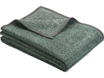 bugatti Wohndecke »Amersfoort«, mit dezentem Muster, grün, dunkelgrün