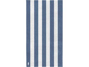 Seahorse Strandtuch »Vamos« (1-St), mit Längsstreifen, blau, blau