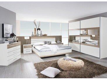 rauch BLUE Schlafzimmer-Set »Tarragona«, (Set, 4-tlg), natur, weiß-eichefarben San Remo