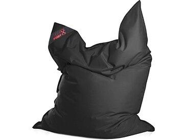 Magma Heimtex Sitzsack »Big Foot«, Indoor / Outdoor geeignet, schwarz, schwarz