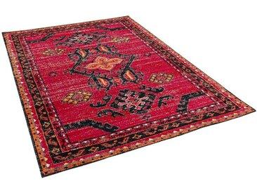 Pergamon Orientteppich »Designer Teppich Vintage Zoe Orient Bordüre«, Rechteckig, Höhe 6 mm