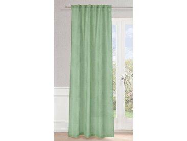 Neutex for you! Vorhang »Paloma«, Multifunktionsband (1 Stück), Schal mit verdeckten Schlaufen, grün, grün
