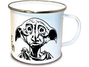 LOGOSHIRT Tasse mit tollem Dobby-Print, bunt, farbig