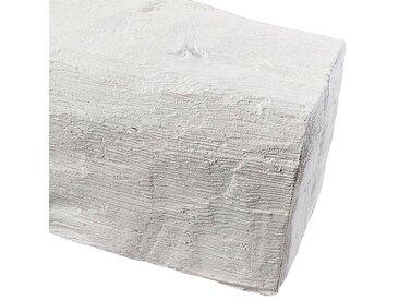 Homestar HOMESTAR Dekorpaneele Länge 2 m, Holzimitat, weiß, weiß, weiß