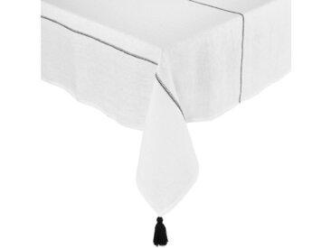 BUTLERS Tischdecke »SIGNATURE Tischdecke mit Quasten L 160 x B 160cm«