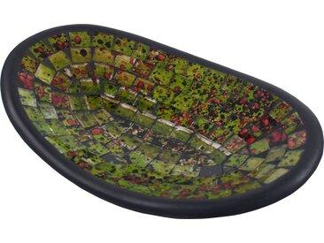 Guru-Shop Dekoschale »Ovale Mosaikschale, Untersetzer, Dekoschale,..«