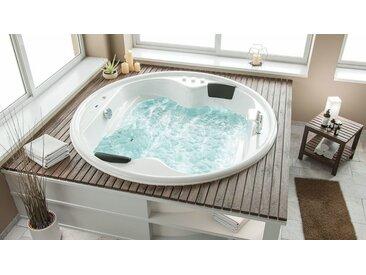 Emotion Whirlpool-Badewanne »Whirlpool Saturn Rund Premium«