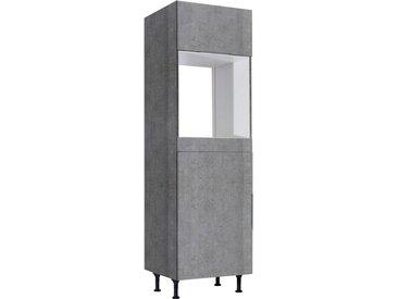 OPTIFIT Backofen/Kühlumbauschrank »Tara«, grau, betonfarben