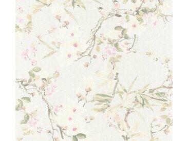 METROPOLIS BY MICHALSKY LIVING Vliestapete »Dream Again«, floral, geblümt, mit Blumen, bunt, natur-grün-rosa-grau