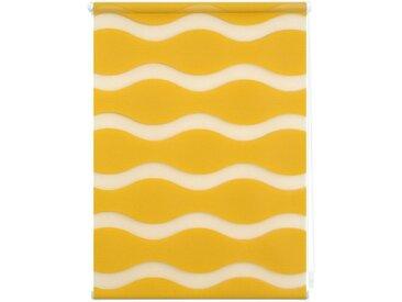 LICHTBLICK Doppelrollo »Duo Rollo Klemmfix Welle«, Lichtschutz, ohne Bohren, im Fixmaß, gelb, senfgelb