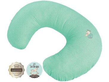 SEI Design Stillkissen »Schnecke«, mit Reißverschluss, grün, mint