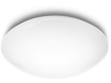 Philips LED Deckenleuchte »myLiving Suede 4000K, 2350lm, Weiß«, 4-flammig