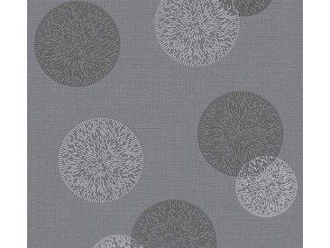 living walls Vliestapete »Happy Spring«, gepunktet, grau, grau