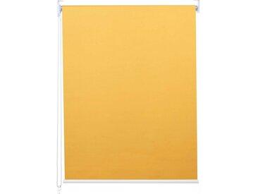 MCW Seitenzugrollo »-D52-110x160«, abdunkelnd, verschraubt, blickdicht, gelb, gelb