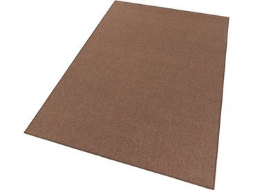 BT Carpet Teppich »Casual«, rechteckig, Höhe 4 mm, Kurzflor, braun, braun