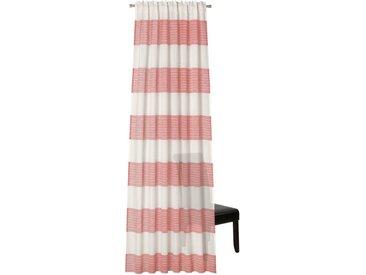 Neutex for you! Vorhang »Lisa«, verdeckte Schlaufen (1 Stück), HxB: 245x142, Schal mit verdeckten Schlaufen, rosa, rosa