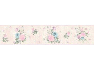living walls Bordüre »Djooz«, floral, geblümt, mit Blumen, Vlies, bunt, rosa-bunt