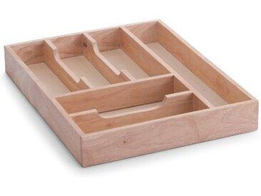 Zeller Present Besteckkasten, Gummibaumholz