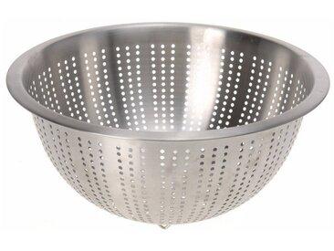 Excellent Houseware Küchensieb »Sieb Edelstahl Abtropfsieb Siebschüssel Seiher 28cm Nudel Salat Obst Gemüse«, Edelstahl