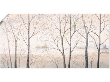 Artland Wandbild »Seeufer am Wald I«, Gewässer (1 Stück), Poster