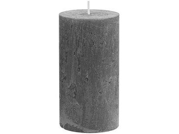 BUTLERS Stumpenkerze » RUSTIC 6x Stumpenkerze H13cm«, grau, Grau