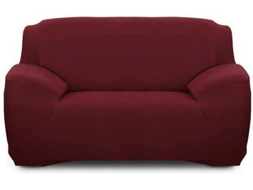 TOPMELON Sofahusse »Sofahusse«, rot, 2-Sitzer, Weinrot