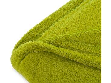 Gözze Plaid »Color«, in schlichten Unifarben, grün, limone