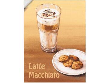 Artland Wandbild »Latte Macchiato III«, Getränke (1 Stück), Wandaufkleber - Vinyl