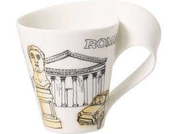 Villeroy & Boch Kaffeebecher Rome »Cities of the World«, gelb, 300,00 ml, gelb