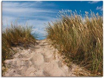 Artland Wandbild »In den Dünen Dänemarks II«, Strand (1 Stück), Leinwandbild