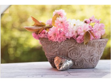 Artland Wandbild »Kirschblüten in Schale«, Blumen (1 Stück), Wandaufkleber - Vinyl
