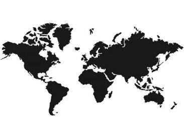 Wall-Art Wandtattoo »schwarze Weltkarte klassisch« (1 Stück)