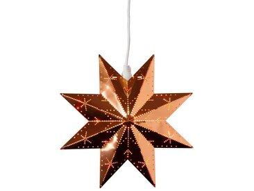 """STAR TRADING LED Stern »Messingstern """"Classic"""" - hängend - 8-zackig - Ø 28cm - inkl. Kabel - kupfer«"""