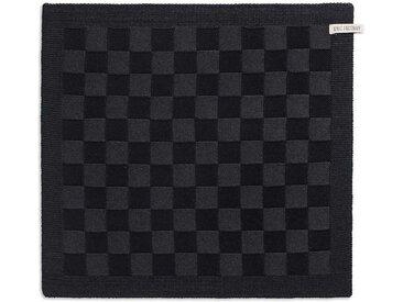 Knit Factory Tischdecke »Küchentuch Block Schwarz/Anthrazit«