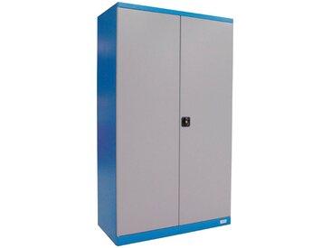 Güde GÜDE Werkzeugschrank »VAS T02«, (B/T/H): 110x58x193 cm, blau, blau/grau