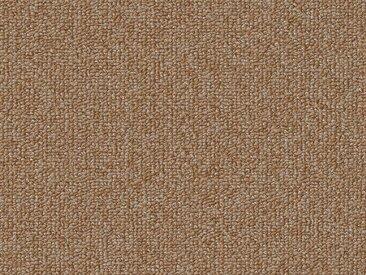 Vorwerk Teppichboden »ESSENTIAL 1074«, rechteckig, Höhe 7 mm, Schlinge 1-farbig, 400/500 cm Breite, braun, beige