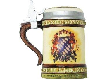 Krebs Glas Lauscha Christbaumschmuck »Bierkrug« (1-tlg), mundgeblasen