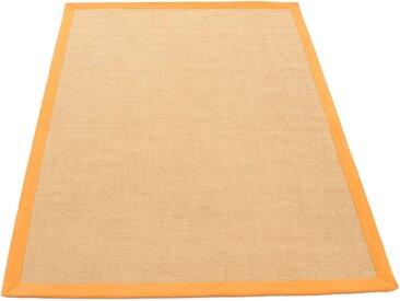 carpetfine Sisalteppich »Sisal«, rechteckig, Höhe 5 mm, orange, orange