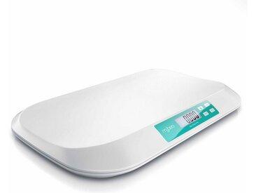 MyBeo Digitale Babywaage mit Display »50 g bis 20 kg / 3 Zoll Display / Einheit kg & lb«, weiß, weiß