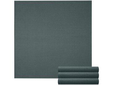 Lashuma Handtuch Set »Pure« (Set, 4-tlg), Geschirrtuch 4er Set, Küchentücher Waffelpique 50 x 50 cm, grau, dunkelgrau
