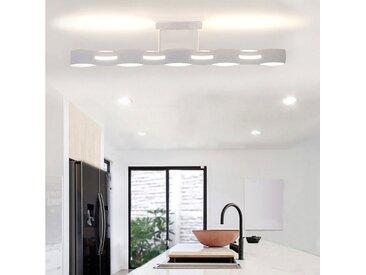 Lutec Deckenleuchte »LED Wave 3-Stufen Dimmer Weiß«