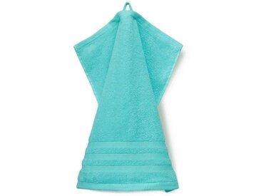 grace grand spa Waschlappen »Aktion« (3-tlg), mit attraktiver Streifen-Bordüre, grün, mint