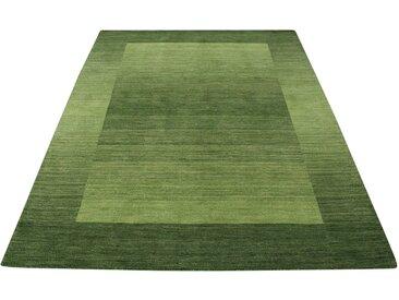Theko Exklusiv Wollteppich »Gabbeh Super«, rechteckig, Höhe 9 mm, grün, grün