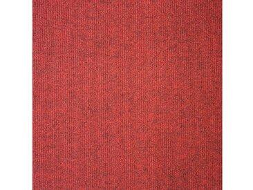 Teppichfliese »Trend«, 20 Stück (5 m²), selbstliegend, rot, dunkelrot