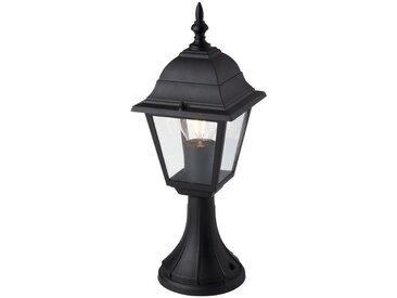 Brilliant Leuchten Newport Außensockelleuchte 41cm schwarz, schwarz, schwarz