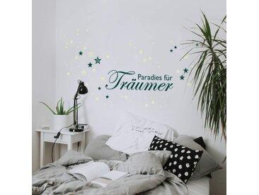 Wall-Art Wandtattoo »Wandtattoo Paradies Leuchtsterne« (1 Stück)