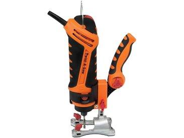 Renovator RENOVATOR Multifunktionswerkzeug »Twist-A-Saw Deluxe Kit«, inkl. vielseitigem Rotationswerkzeug, orange, orange