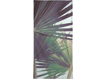 Juniqe Strandtuch »Palm I« (1-St), Weiche Frottee-Veloursqualität